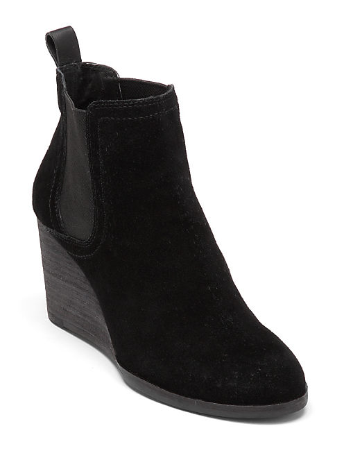 SERKES BOOTIES, BLACK