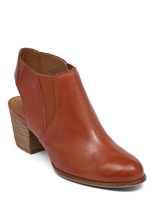 TASHHA BOOTIE, DARK RED