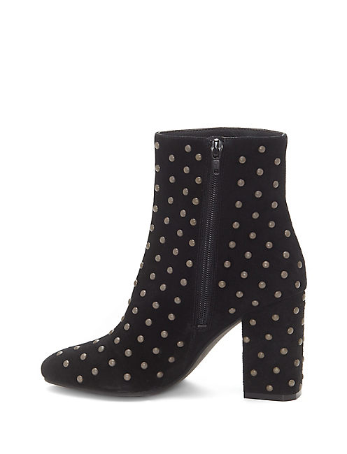 WESSON STUDDED BOOTIE, BLACK