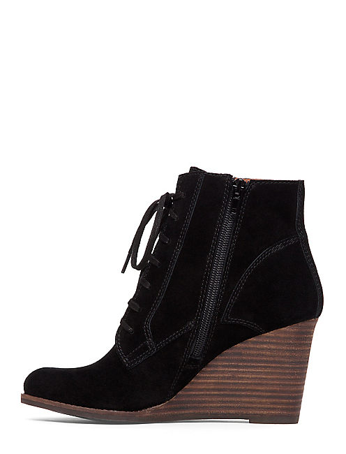 YELLOH BOOTIE, BLACK
