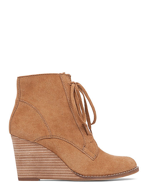 YELLOH BOOTIE, HONEY SUEDE