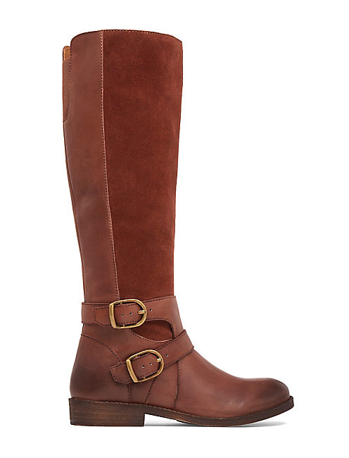 ZATCHI BOOT, OPEN BROWN/RUST