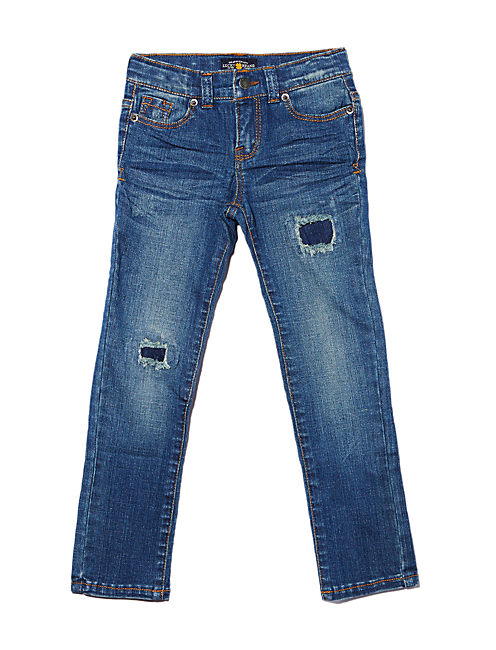 ZOE RIP & REPAIR JEGGING, BLUEGRASS WASH