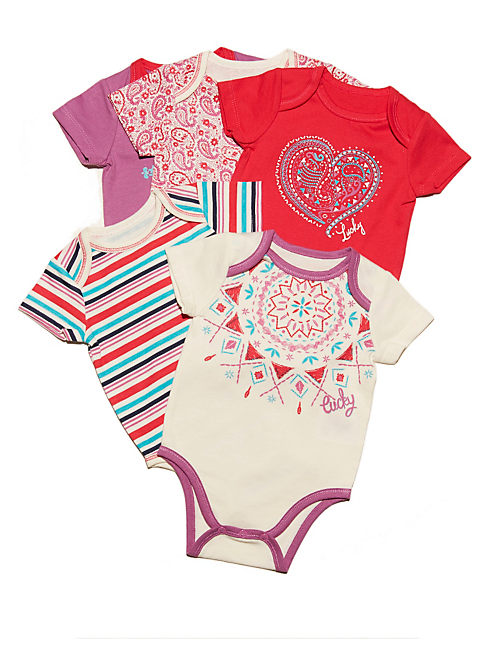 MELODY 5 PIECE SET, ROSE RED
