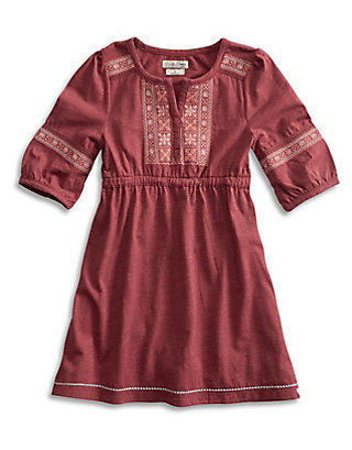 LUCKY MINNIE EMBROIDERED DRESS