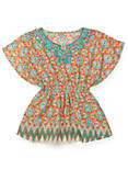 BUTTERFLY TOP, BRIGHT ORANGE