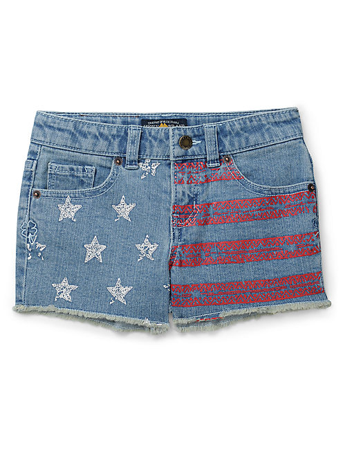 RILEY STARS & STRIPES, OPEN BLUE/TURQUOISE