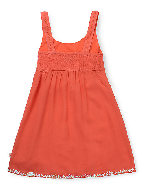 MEXI DRESS, BRIGHT ORANGE