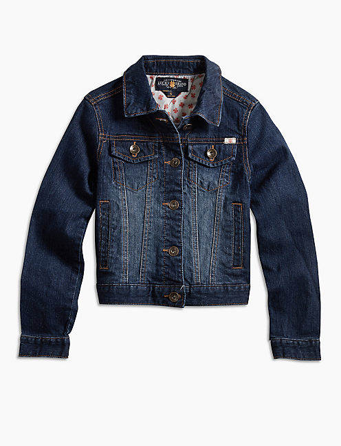SABRINA JACKET, PW DENIM