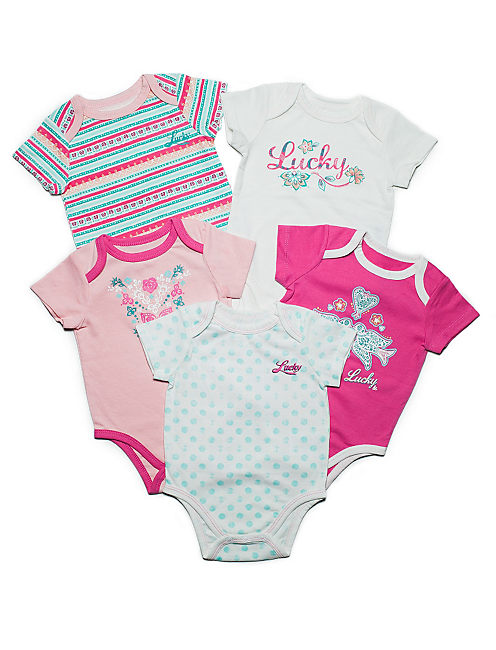 CANDI 5 PACK SET, LIGHT PINK