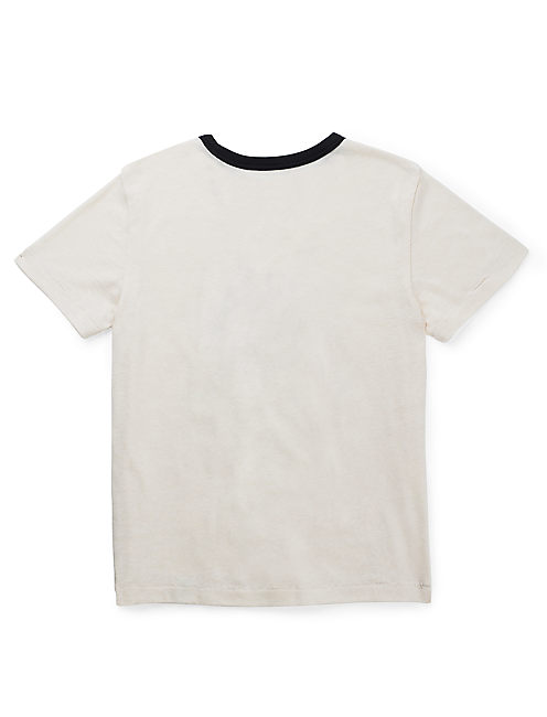BOXING BEAR TEE, LIGHT BEIGE