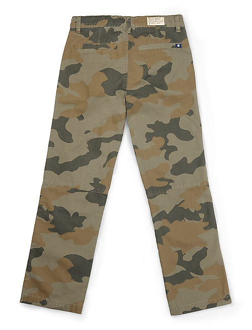 CAMO CHINO PANT, OPEN GREEN