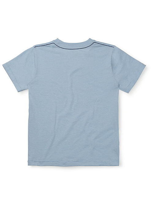 QUALITY TEE, LIGHT BLUE