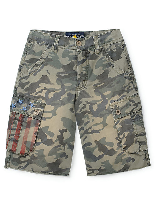 AMERICANA CAMO SHORT, MEDIUM GREEN
