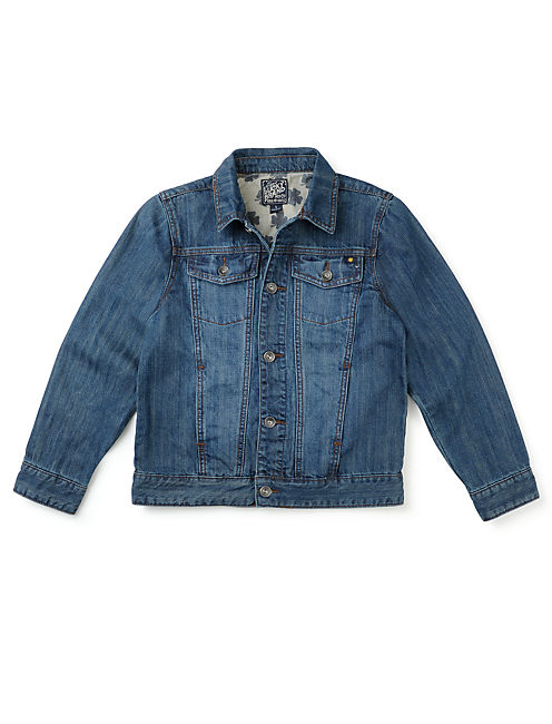 VENICE DENIM JACKET, OPEN OVERFLOW