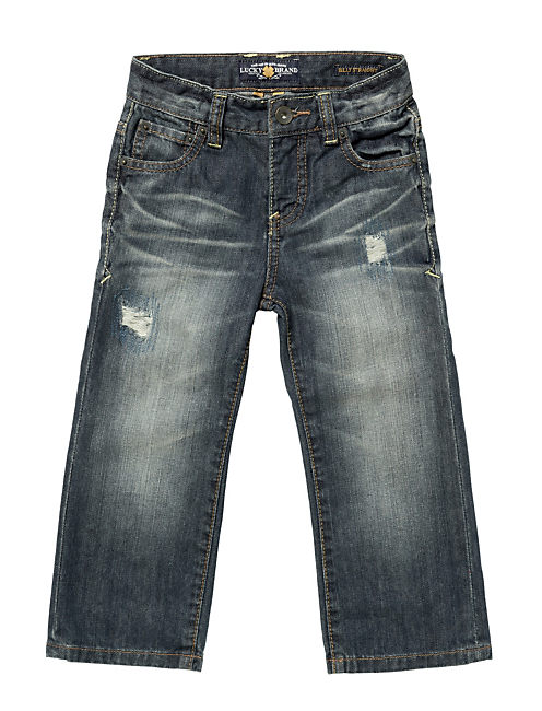 BILLY RIP&REPAIR STRAIGHT, AUTHENTIC WASH