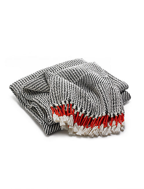 TASSEL THROW,