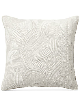 16X16 HEAVY EMBROIDERED DECORATIVE PILLOW