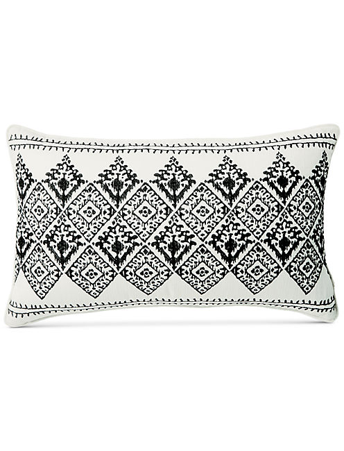 16X26 EMBROIDERED DECORATIVE PILLOW,