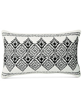 16X26 EMBROIDERED DECORATIVE PILLOW