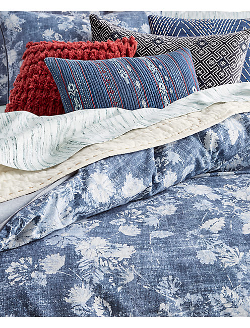 Lucky 14x22 Kantha Stripe Decorative Pillow