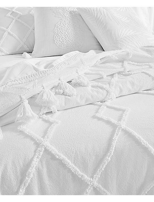 Lucky 18x18 Palm Decorative Pillow
