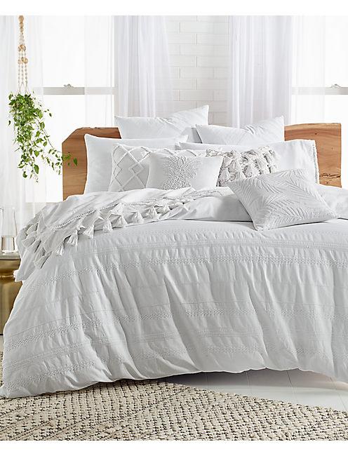 Lucky 18x18 All Tassel Decorative Pillow