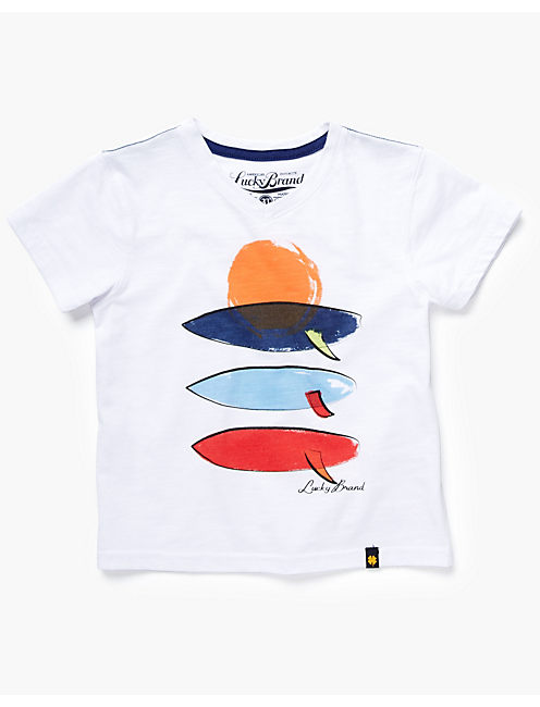 SUNSET SURFBOARD TEE,