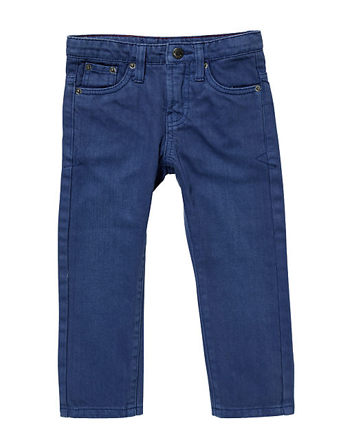 BILLY STRAIGHT TWILL PANT, BRIGHT BLUE