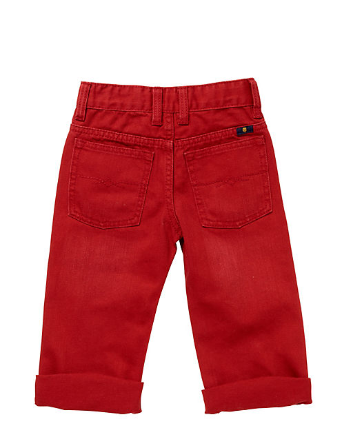 BILLY STRAIGHT TWILL PANT,