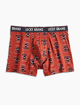 WHISKEY STRETCH BOXER