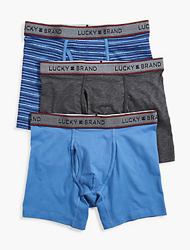 STRIPE 3 PACK BOXER