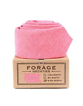 LUCKY FORAGE RED CHAMBRAY TIE