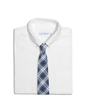 FORAGE BLUE PLAID TIE