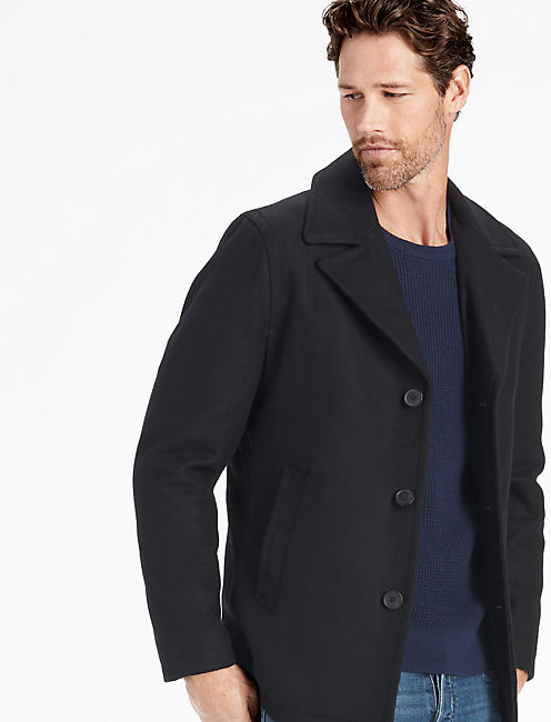 Lucky Wool Classic Peacoat