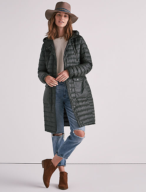 LONG PACKABLE JACKET,