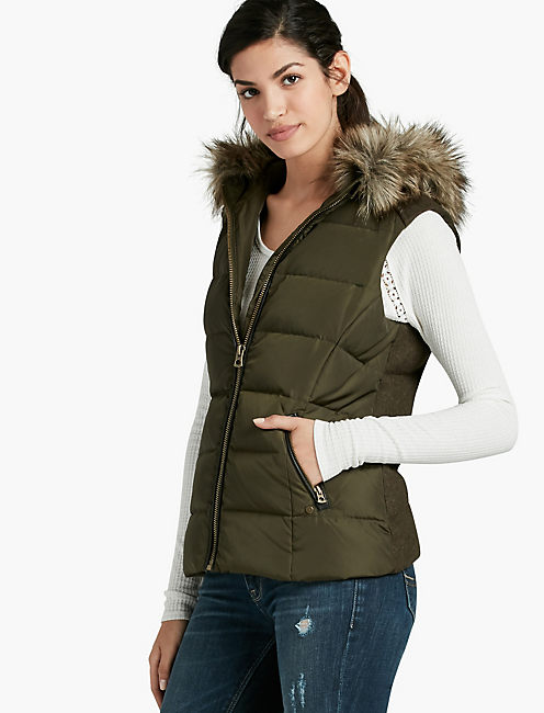ARMY PUFFER VEST,