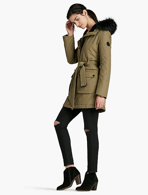 ARMY PUFF WRAP JACKET,