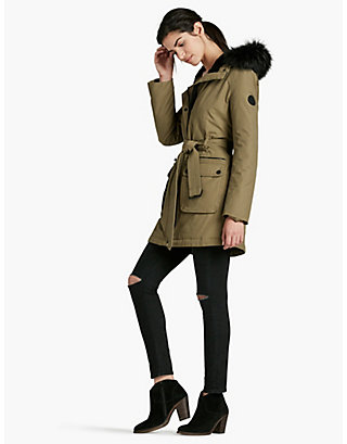 LUCKY ARMY PUFF WRAP JACKET