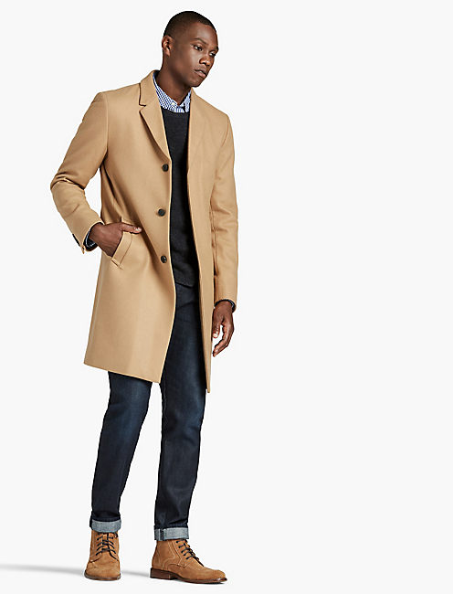 CAMEL CAR COAT,