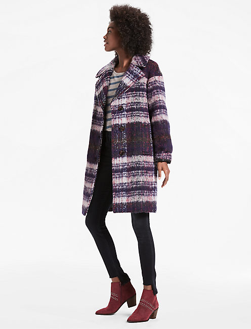 Lucky Plaid Coat