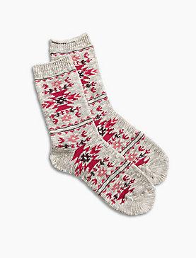 Aztec Boot Socks