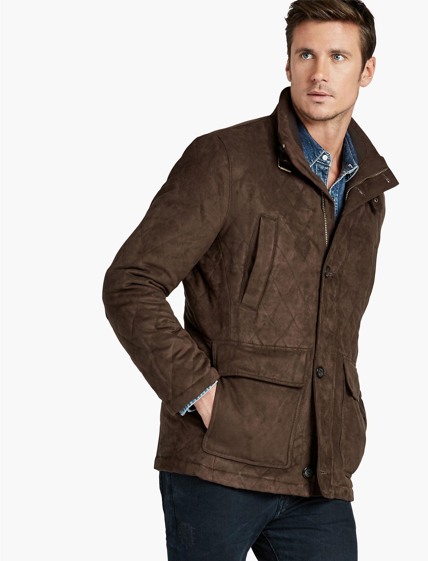 Mens Quilted Jacket | Lucky Brand : men quilted coat - Adamdwight.com