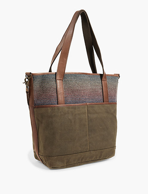 PENDLETON CAMP STRIPE TOTE, MULTI