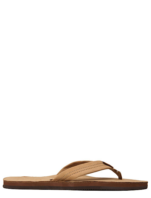 RAINBOW FLIP FLOPS, BROWN