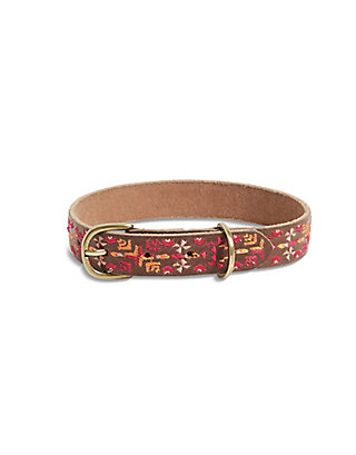 LUCKY AZTEC EMBROIDERED COLLAR