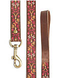 AZTEC EMBROIDERED LEASH,