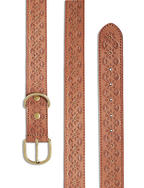LUCKY TOOLED EDGE STUD COLLAR