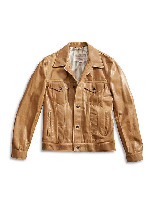 SCHOTT x LB FULTON JACKET, BROWN