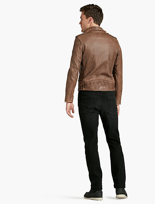 SCHOTT x LB BOWERY JACKET, BROWN